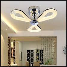 Bedroom Fan Light Brilliant Ceiling Fans With Led Lights India Pertaining To Fan