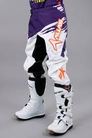 alias motocross gear alias youth a2 motocross pant orange u0026 purple now 13 savings 24mx