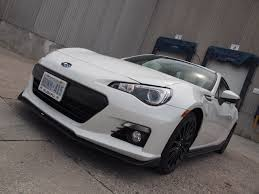 ricer car exhaust review 2015 subaru brz aozora edition canadian auto review