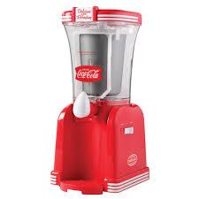 nostalgia coca cola slush machine blender rsm650coke the home depot