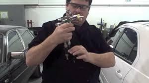 diy how to adjust hvlp paint gun for car auto spray gun