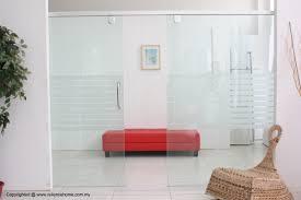 Glass Sliding Door Tracks For Cabinets Hanging Glass Door Aluminium System Tracks Interior Signs