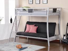 Wooden Bunk Bed With Futon Amazon Bunk Beds Amazoncom Powell Princess Castle Twin Tent Bunk