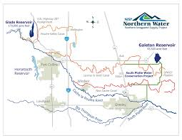Northern Colorado Map by Northern Colorado Water Conservancy District Coyote Gulch