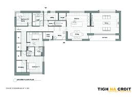 the quinn floor plan simple and stunning highlands passive house merges old and new