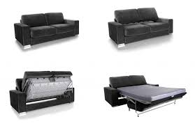 canapé convertible gris anthracite canape convertible modulo microfibre gris anthracite canapé topkoo