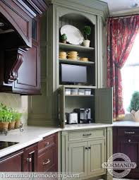 new generation appliance garages normandy remodeling burr ridge kitchen remodel normandy remodeling designer leslie lee