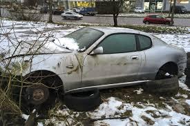 maserati snow на стоянке в петербурге нашли брошенный maserati авторамблер