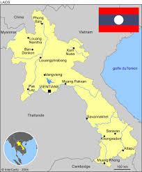 Hmong Map Agence De Voyage Vietnam Laos
