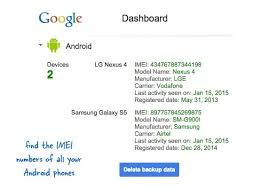 find my lost android i lost my mobile how do i find my imei number quora