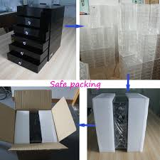 Hair And Makeup Organizer Wholesale Clear Acrylic Jewelry And Hair Accessories Storage Box