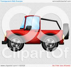 jeep transparent background cartoon of a red jeep royalty free vector clipart by graphics rf