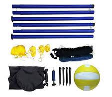 Backyard Picnic Games - volleyball set superior gold backyard picnic games net ball stakes