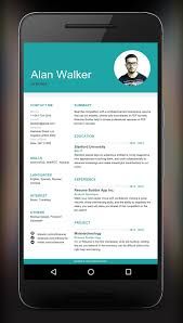 Job Getting Resumes by Resume Builder App Android Apps On Google Play