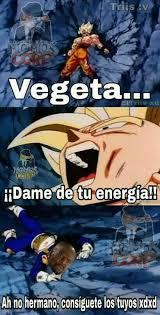 Memes De Vegeta - dopl3r com memes triis v vegeta idame de tuenergiall ah no