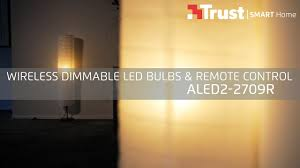 Wireless Light Fixtures by Trust Smart Home Mood Aled2 2709r Wireless Dimmable Led Bulbs