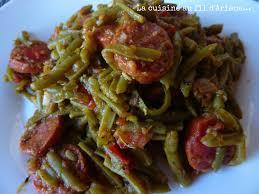 comment cuisiner les haricots plats haricots plats a la tomate et a l ail mes tests cuisiner les