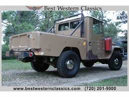 military land cruiser 1963 toyota land cruiser fj for sale classiccars com cc 1044564
