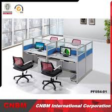 buy wholesale modern office partition dividers computer cubicle