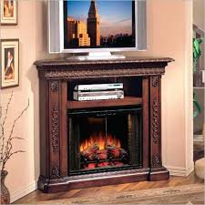 Corner Electric Fireplace Modern Corner Electric Fireplace Entertainment Center Home Ideas