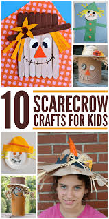 scarecrow crafts for kids easy crafts for the fall season