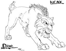9 images of sabertooth tiger coloring pages printable sabertooth