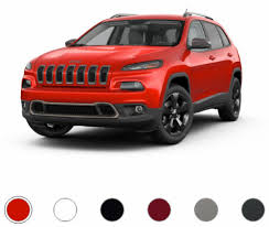 jeep red 2017 2017 jeep cherokee color options