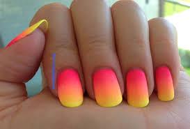 bright summer nail art designs 50 beautiful bright and neon nails