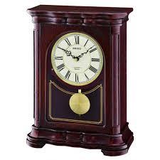 westwick musical mantel clock qxw242blh seiko clocks
