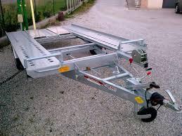 carrello porta auto rimorchio carrello trasporto auto 1500 kg a castagneto carducci