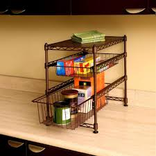 Kitchen Cabinet Organizer by Seville Classics 11 1 2 In X 17 1 2 In X 18 1 2 In Stackable