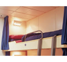 Living Room Privacy Curtains A Private Berth Privacy Curtains For Ships U0027 Living Quarters