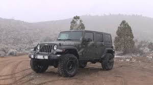 jeep wrangler army green 2015 jeep wrangler rubicon unlimited in tank green youtube