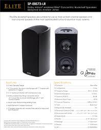 pioneer 2 1 home theater system pioneer sp ebs73 lr dolby atmos elite concentric bookshelf speaker