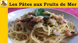 cuisiner cocktail de fruits de mer surgelé les pâtes aux fruits de mer rapide et facile
