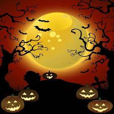 halloween scenic background halloween wall backdrops halloween wikii