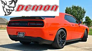 When Did Dodge Chargers Come Out 2018 Dodge Demon Hellcats Drop In Price Youtube