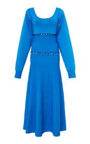 kino scoop neck convertible knit dress by prabal moda operandi
