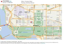 Washington Dc On A Map by Iatse Local 22