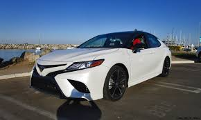 toyota camry limo 2018 toyota camry xse v6 road test review by ben lewis