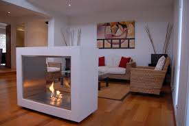 modern interior design vision modern ventless fireplace without