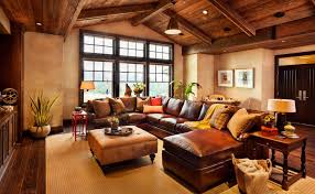 living room sophisticated rustic living room decor with modern