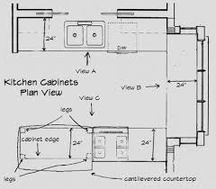 kitchen drawings plan modest on kitchen inside design your own 8
