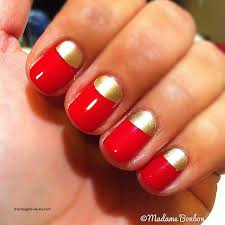 nail arts half moon nail designs lovely manichiura semiluna