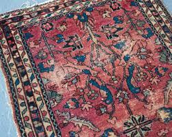 vintage persian rug etsy