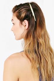 gold hair accessories how to copy 4 of cara delevingne s luxe hair accessories