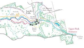 High Cliff State Park Map Seeing Lucifer Falls In Winter Walk In The Park