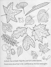 monica wellington u0027s news my leaf book coloring page