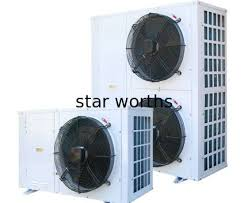 electric fan box type to 3hp one fan box type air cooled condenser series extended