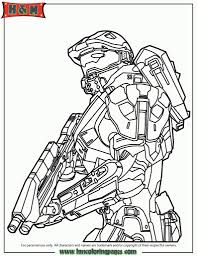 free printable halo coloring pages for kids with regard to master